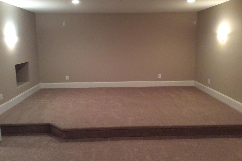 Area in a house on The Plains with raised floor