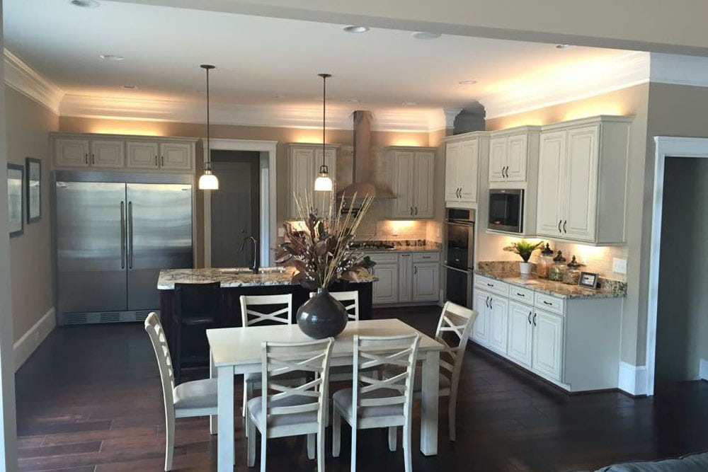 Fairfax home kitchen from dining room