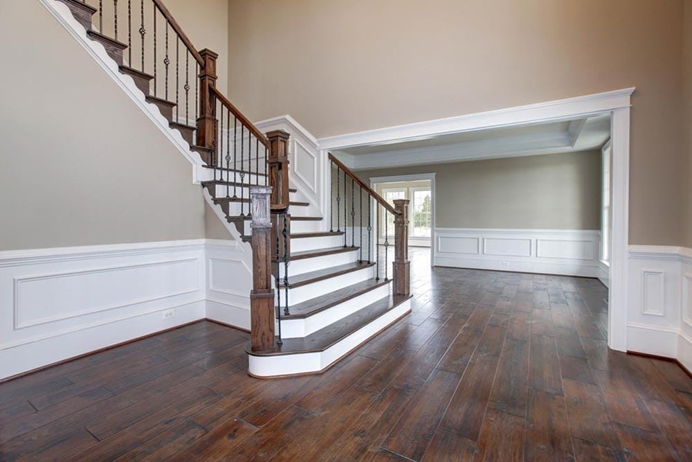 Front stairs in Culpeper home