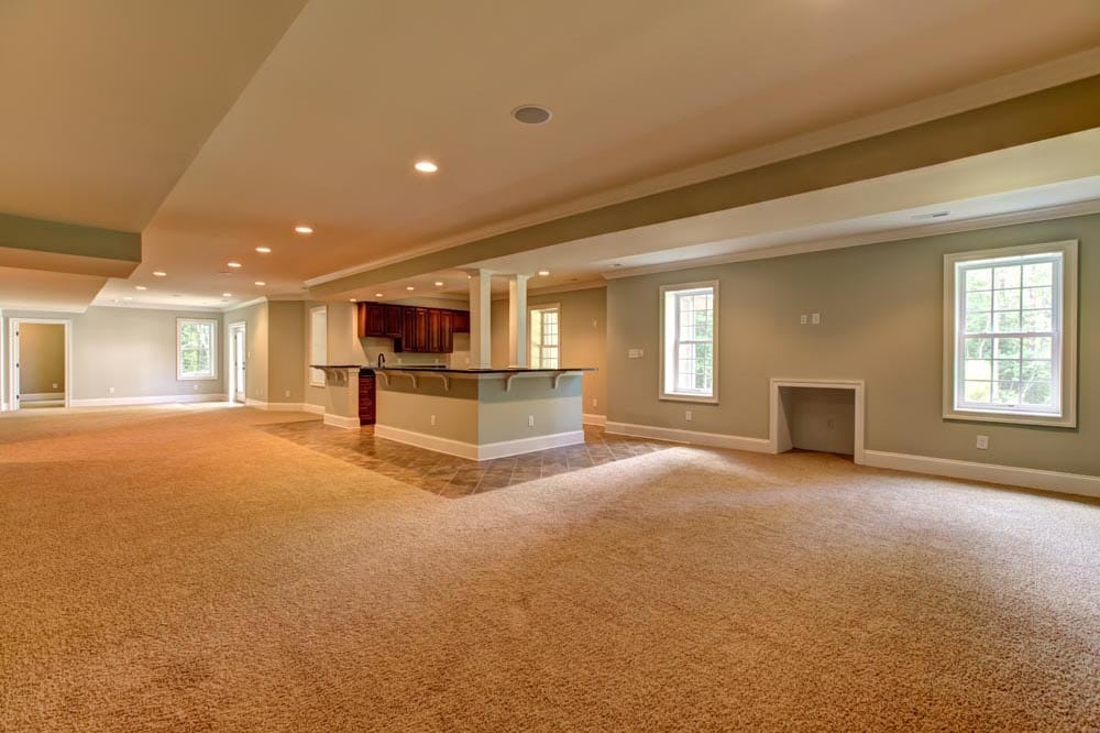 Large overview of Ashburn basement