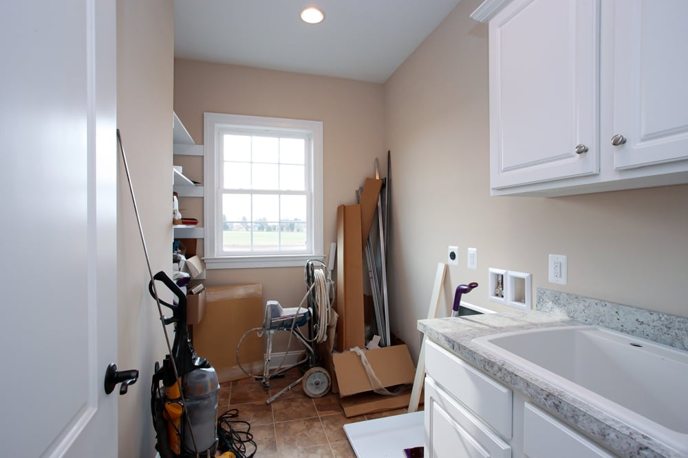 Nokesville laundry room