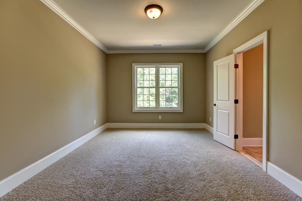 Room with window in new Ashburn home