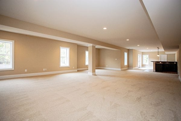 Large basement in a house in Manassas VA