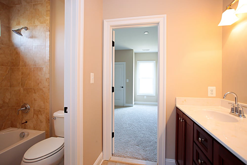 View of room from bathroom in Nokesville home