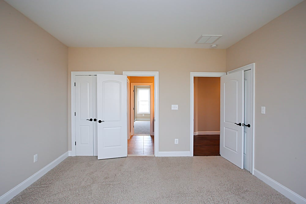 View of rooms and middle bathroom in Nokesville home