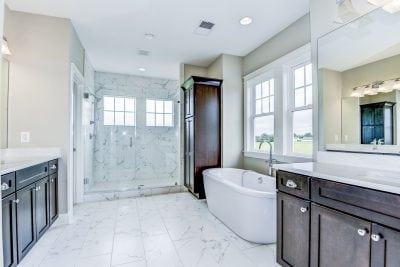 Stonehill Nokesville Spec Home Master Bathroom