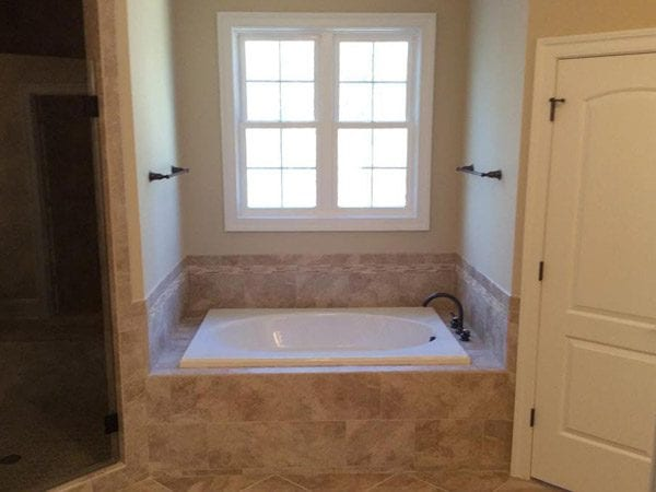 Master bathroom in round hill virginia home